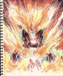 Sketch 12 : Firestorm by Cinar