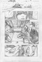 Ravager part 2 page 9 pencils by Cinar