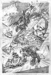 RAVAGER p.3 page 6 pencils by Cinar