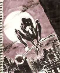 Sketch 18 : Spider-Man by Cinar