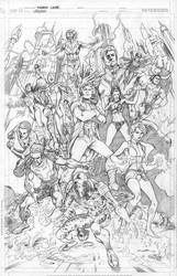 Legion of Super Heroes by Cinar