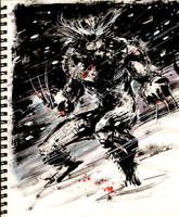 Sketch 35 : Wolverine by Cinar