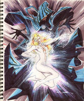 Sketch 37 : CLOAK AND DAGGER by Cinar