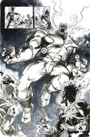 Helix in costume by Cinar