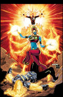 FURY OF FIRESTORM 10 cover by Cinar