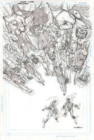 Firestorm 12 Cover pencils by Cinar