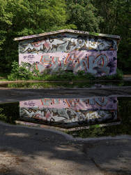 Graffiti in the mirror by Andr345R
