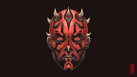 Sith Lord Darth Maul Fanart by Imogia