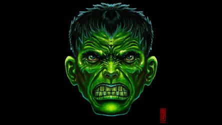 The Hulk - Fanart by Imogia