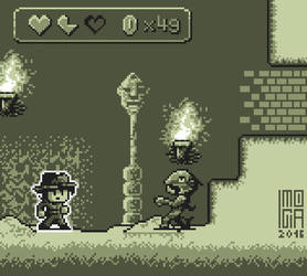 Pixel art -- adventure game by Imogia