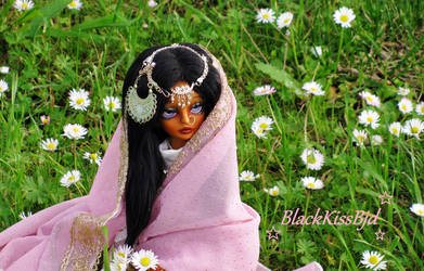 Flowers of spring by BlackKissBjd