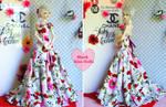 The Red Carpet Dress by BlackKissBjd