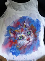 Cat Shirt by djinnie