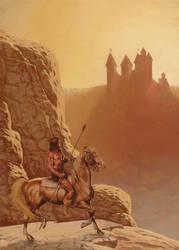 Mountain warrior by Atanasovski