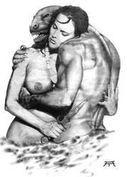 Beauty and the Beast by Atanasovski