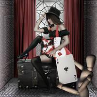 Queen Of Hearts by Juli-SnowWhite