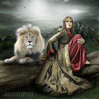 The Lioness by Juli-SnowWhite