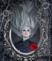 Blood Red Rose by Juli-SnowWhite