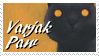 Varjak Paw Stamp by BlackRayser