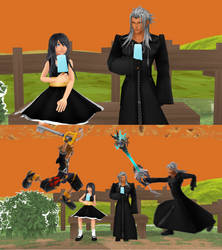 KH MMD: First Date by Faindessiness