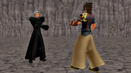 KH MMD: Two Terras by Faindessiness