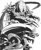 Predator vs Alien by Xagamus