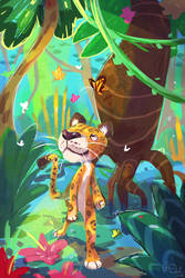 Jungle Stroll by colonel-strawberry