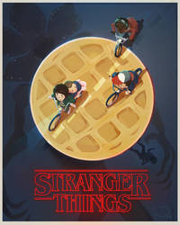 Stranger Things Poster by colonel-strawberry