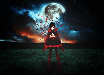 Falling Petals by xHolyxLightx