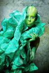 Alien goddess by Ophelia-Overdose