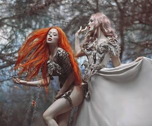Half Goddess half hell by Ophelia-Overdose