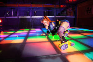 Disco Cat by Ophelia-Overdose