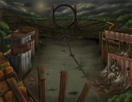 Abandoned Amusement Park by lyconeus