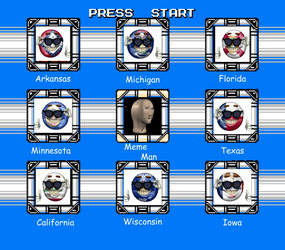 MM4 Stage Select (US States Edition) by Jordan2048