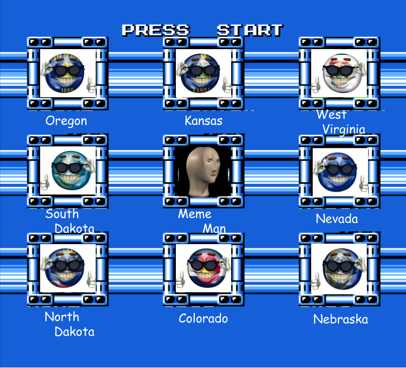 MM5 Stage Select (US States Edition) by Jordan2048