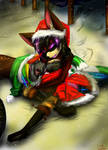 Merry Christmas Sis by Fluffy-Mage
