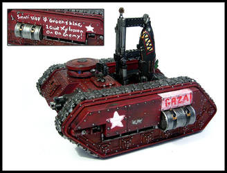 Grot Rebellion GAZA Rokit Tank by Proiteus