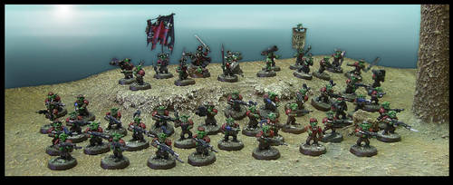 Codex: Grot Infantry Platoon by Proiteus
