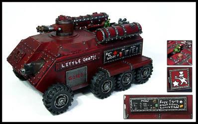 Grot Rebel Little Grot Tank by Proiteus