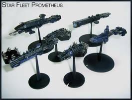 Babylon 5 Fleet Prometheus by Proiteus