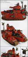 Grot Rebel Battle Brusier (Hellhammer) by Proiteus