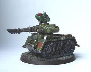Grot Rebelion Minibug Tank :D by Proiteus