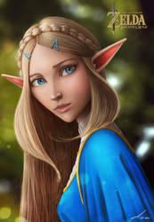 Zelda  FAnart! by ben-adar