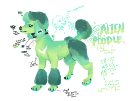 Alien Poodle Auction! by Hellibeast