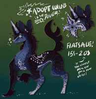 COLLAB ADOPT! Flat sale!! by Hellibeast