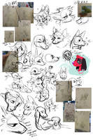 Sketch Dump by Hellibeast