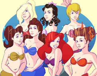 The Daughters of Triton by avidcartoonfans
