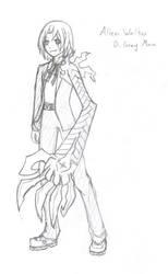 Allen Walker Sketch by Cateyes27