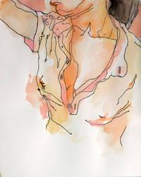 Silk Blouse by screamingfish