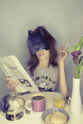 Bat Girl - The Morning by Aiae